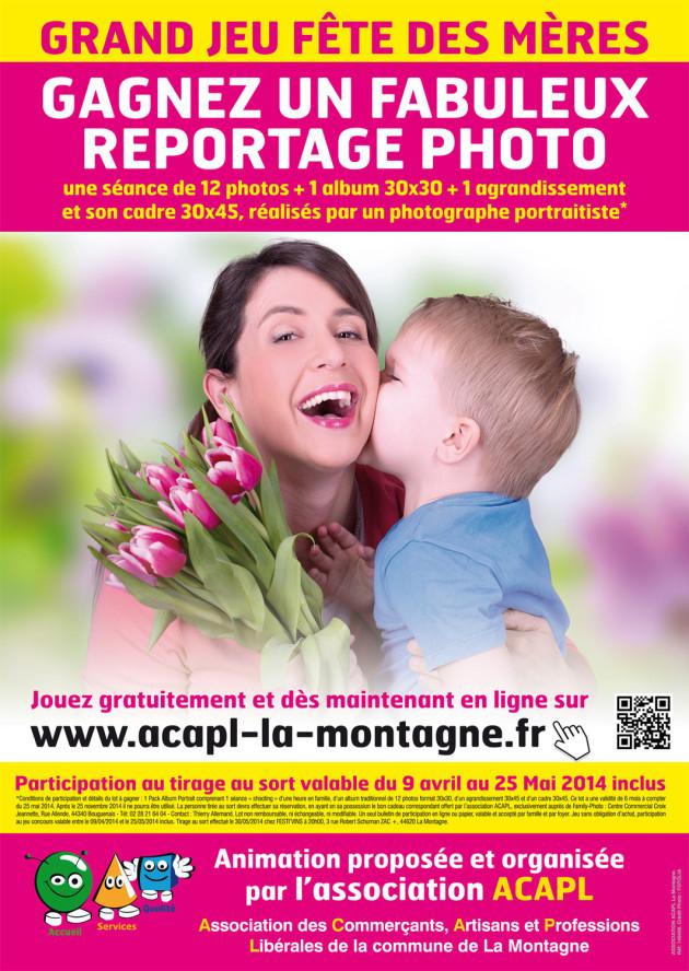 Affiche Fêtes des Mères 2014-ACAPL La Montagne